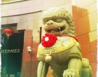 Hermes Lion at Chinese New Year 2012 Ngee Ann City