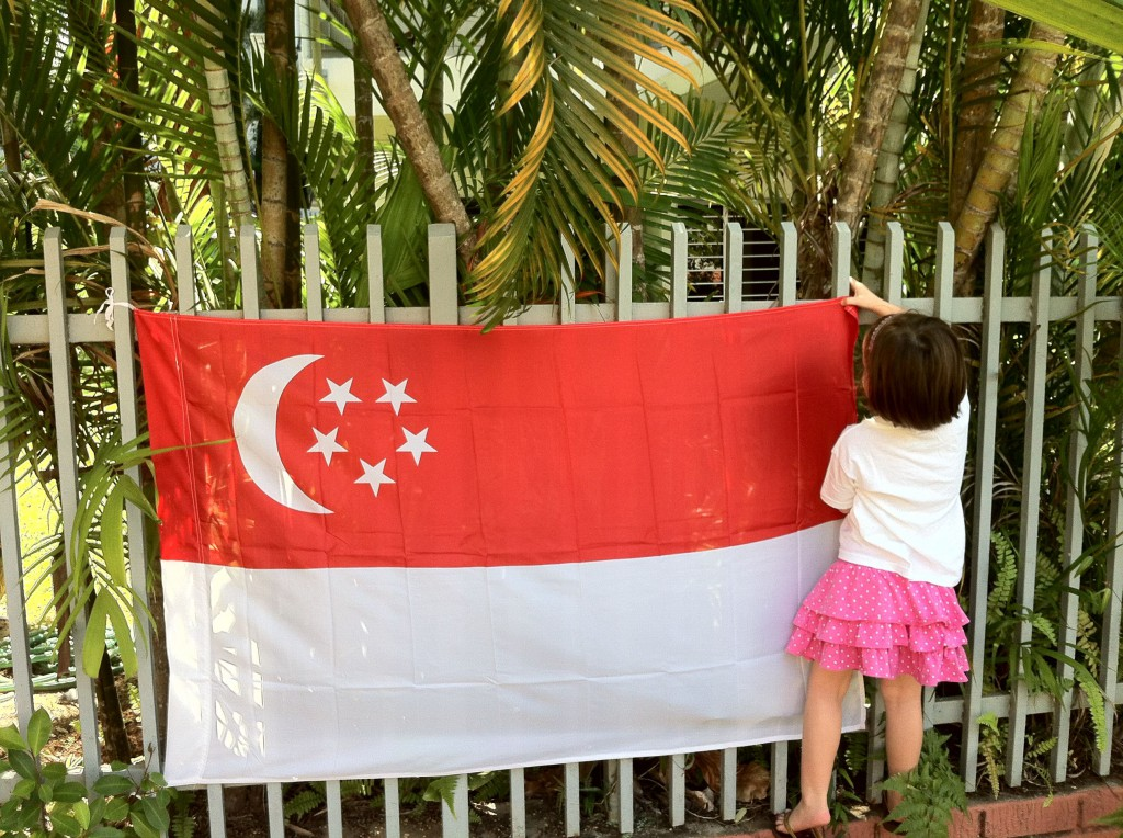 Flying the flag, Singapore gets ready to celebrate National Day