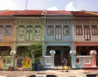 Shophouses off Trembling Road, Katong