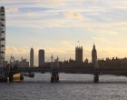 view from Waterloo Bridge
