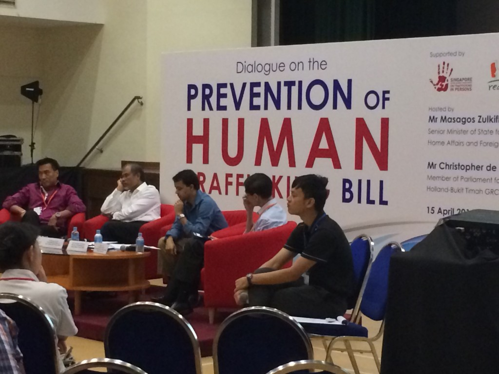 Prevention of Human Trafficking panel