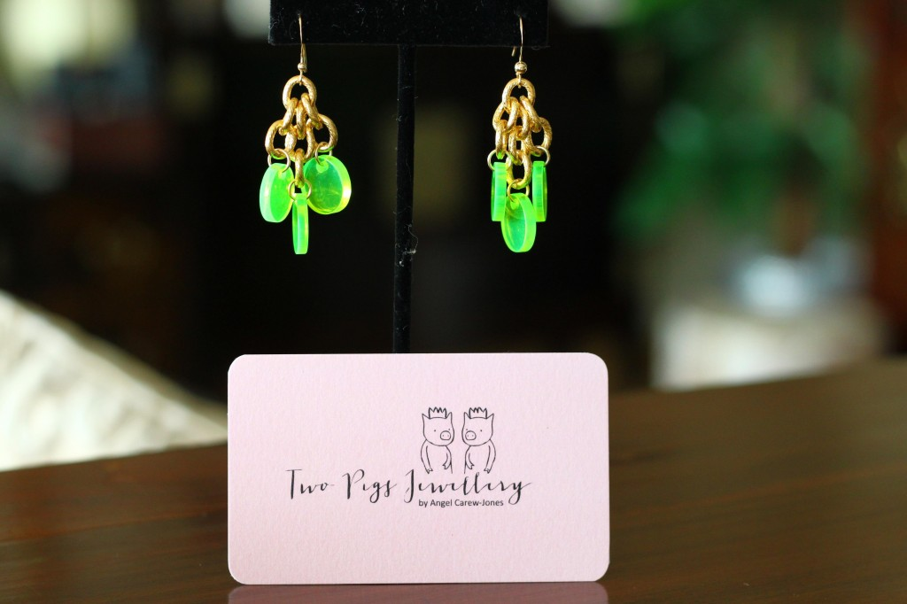 2 pigs disk earrings changmoh lifestyle blog singapore