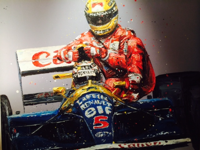 art exhibition F1 racing icon singapore eden hall changmoh blog lifestyle