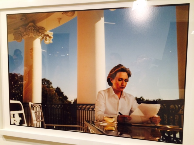 Powerhouse Hillary Clinton - by Annie Leibovitz