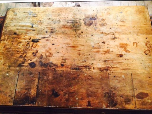 Viriginia Woolf's desk at her East Sussex home Monks House - Annie Leibovitz