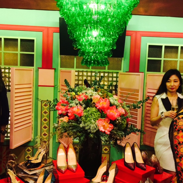 Shophouse shoe house - louboutin event Singapore Ngee Ann City Changmoh blog