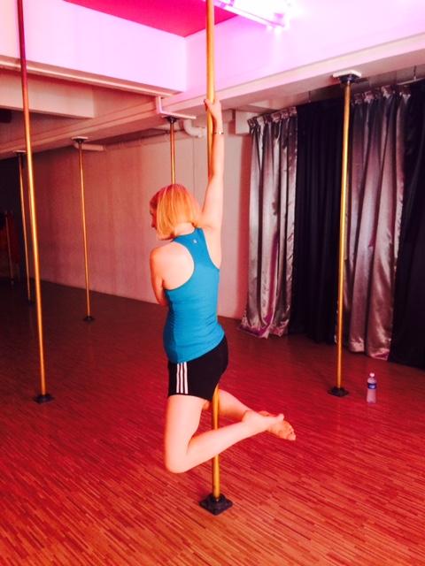 Vanessa - pole dancing