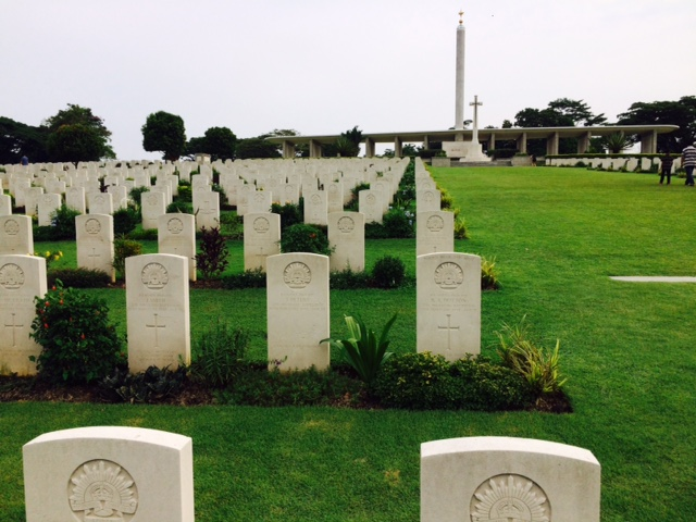 Kranji graves Singapore Remembrance Sunday