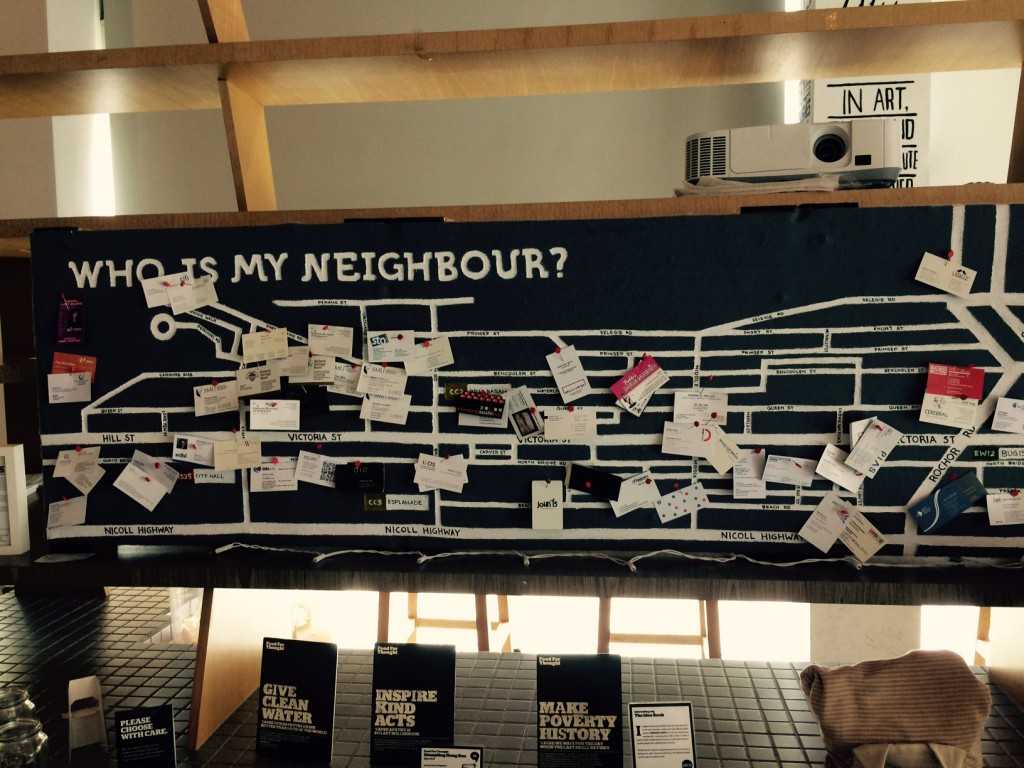 Notice your Neighbour Notice Board - FFT changmoh blogger Singapore