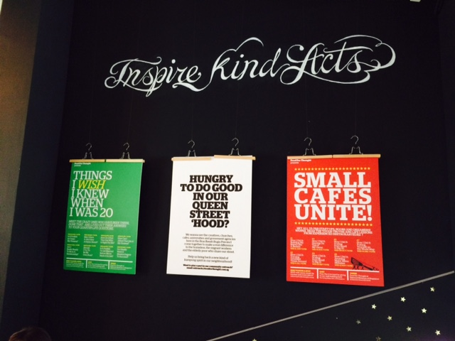 Inspire Kind Acts - FFT notice boards