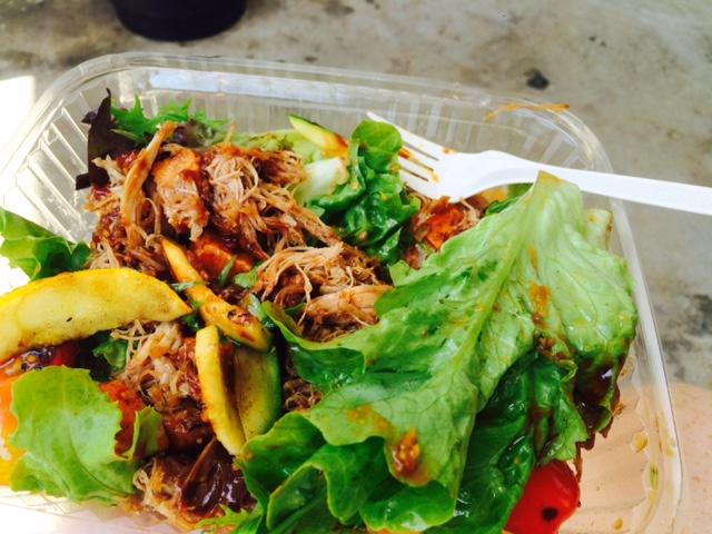 Pulled pork salad FFT