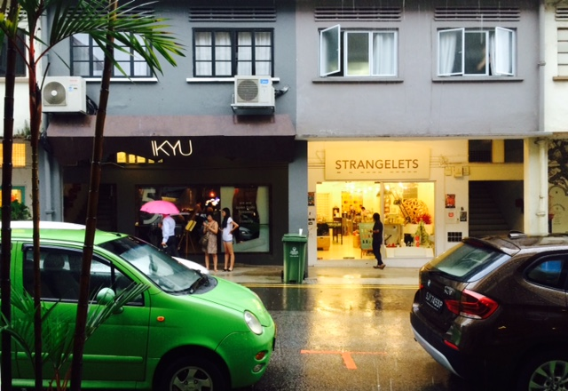 Pelting it down in Tiong Bahru