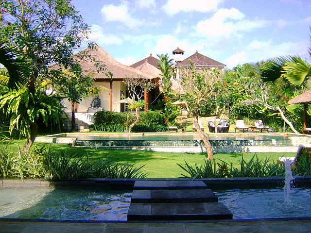Villa from the cabana - Villa Paadi, Bali
