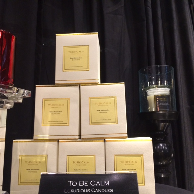 To Be Calm candle boxes are beautiful