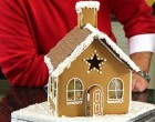 Gingerbread house a la Mary Berry
