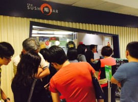 Sushi worth queuing for