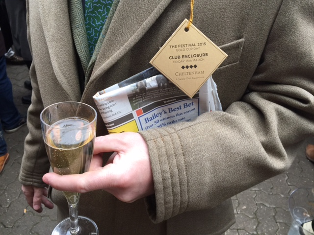 Club tickets, champagne and the Racing Post. All you need for a day at the races