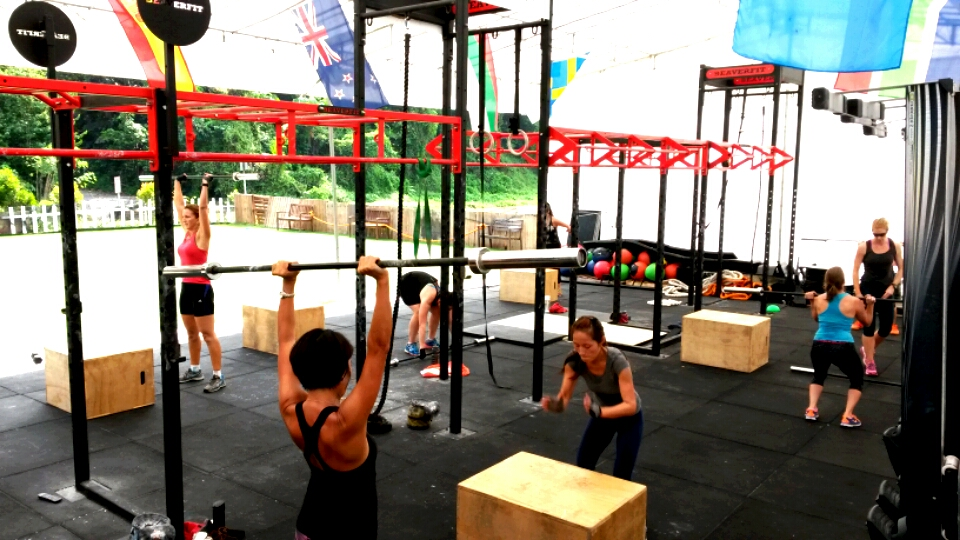 Cross Fit's group classes