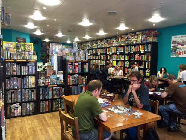 The Oxford board game cafe