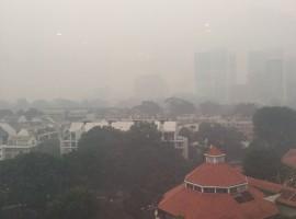 Smoggy Singapore