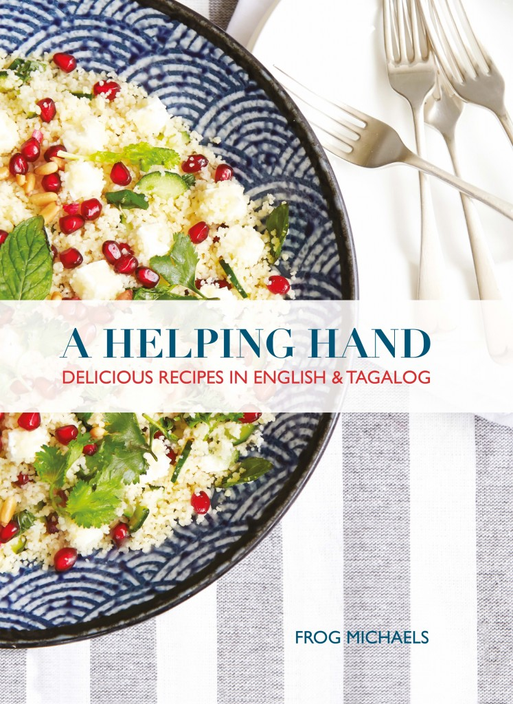 Cookbook for helpers in Singapore in English and Tagalog