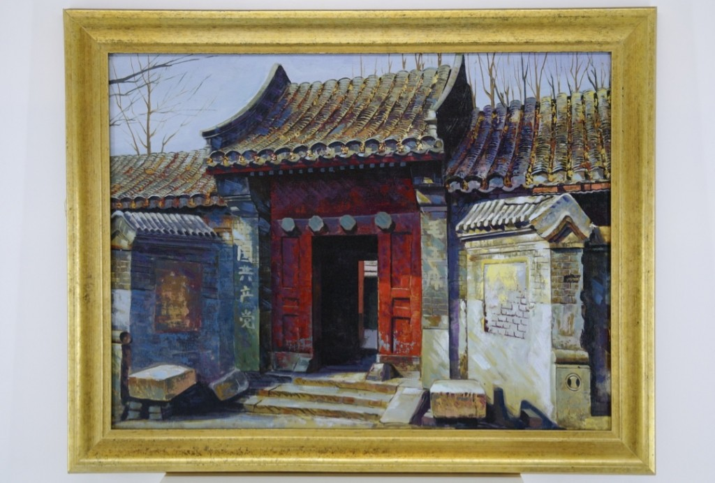 Chinese School oil on canvas