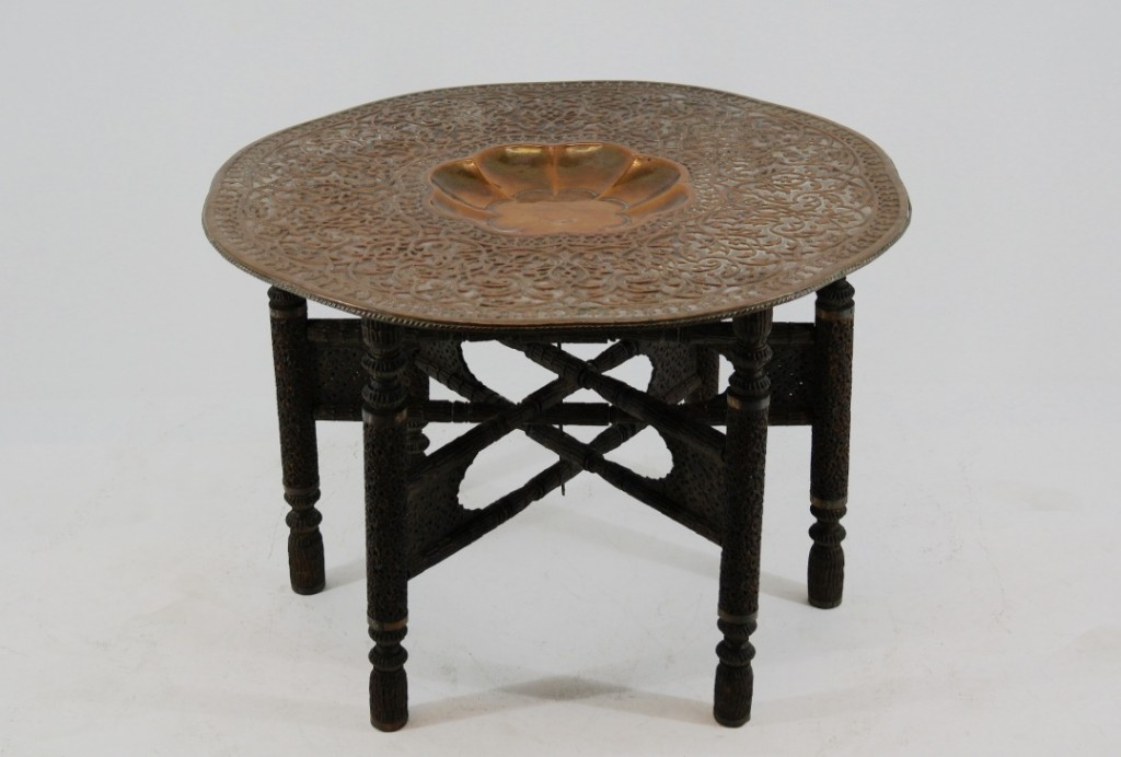 Indian copper table