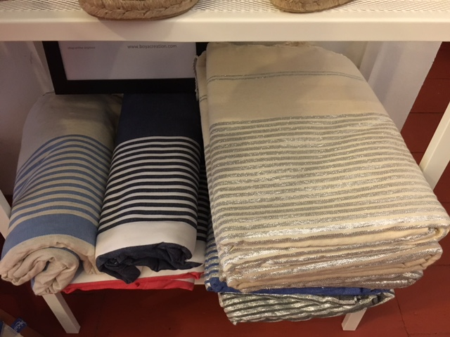 Kikoys, beach wraps, towels and throws by Bo Ya