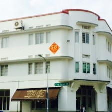 Tiong Bahru and its Art Deco buildings