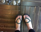 Sanuk flip flops are in heavy disguise and don't really look like flip-flops [changmoh blogger singapore lifestyle]